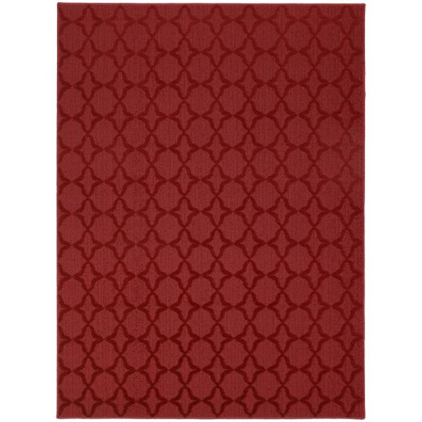 Sparta 9 Ft. x 12 Ft. Area Rug Chili Pepper Red