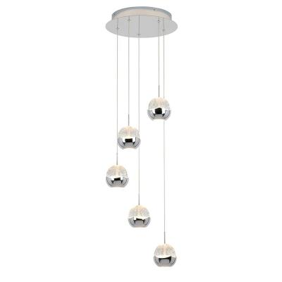 Oracle 22-Watt Integrated LED Chrome Pendant