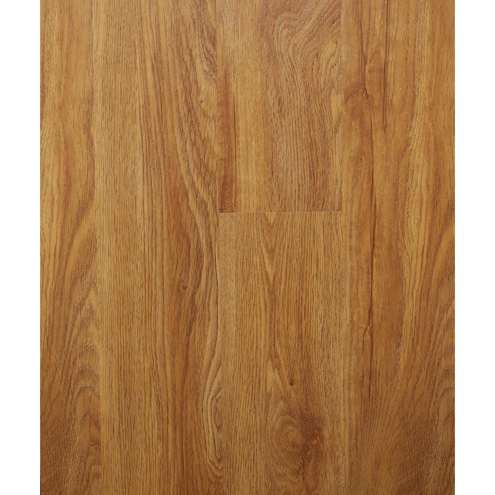 Hydri-Core 5.83 in. x 36 in. Harvest Oak Embossed HDPC Vinyl Plank (17.48 sq. ft. / case)