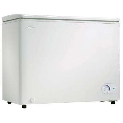 8.1 cu. ft. Manual Defrost Chest Freezer in White