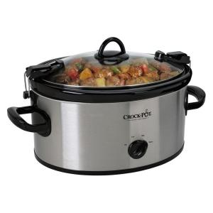 Click here to buy CrockPot 6 Qt. Slow Cooker by CrockPot.