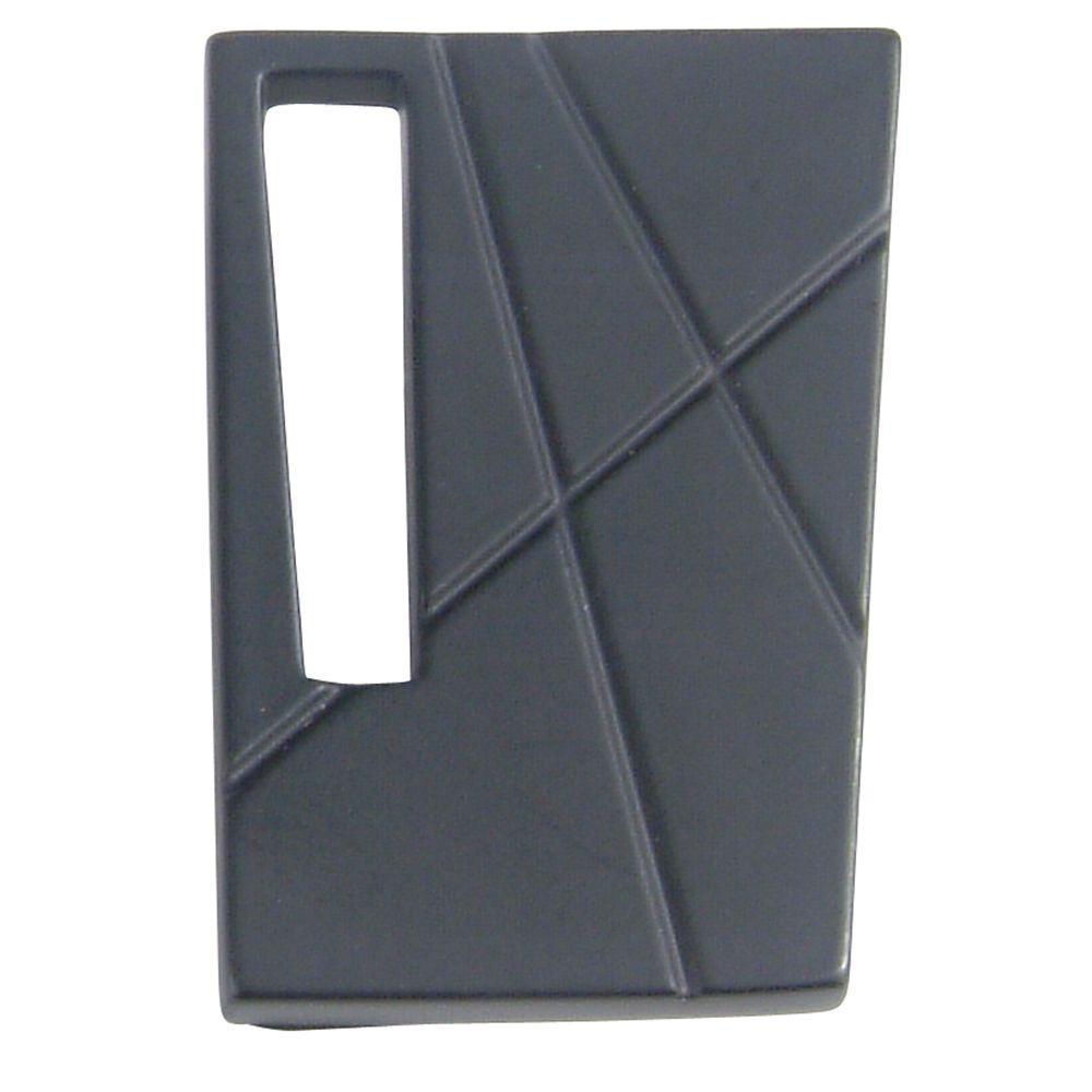 Atlas Homewares Modernist Collection 1-3/4 in. Black Cabinet Knob