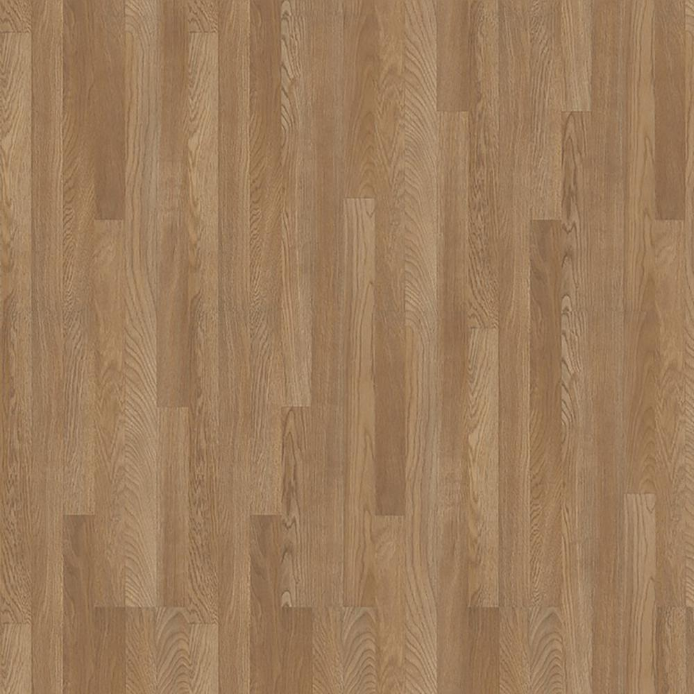 Trafficmaster Gladstone Oak 7 Mm Thick X 7 2 3 In Wide X 50 4 5 In Length Laminate Flooring 24 24 Sq Ft Case 32686 The Home Depot