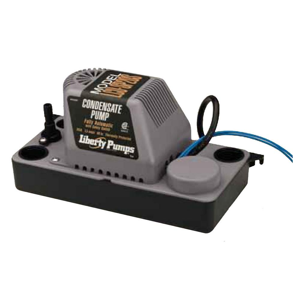LCU-Series 115-Volt Shallow Pan Condensate Removal Pump with Safety Switch