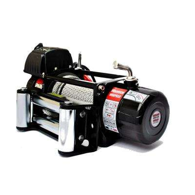 Spartan Series 9,500 lb. Capacity 12-Volt Electric Winch with 82 ft. Steel Cable