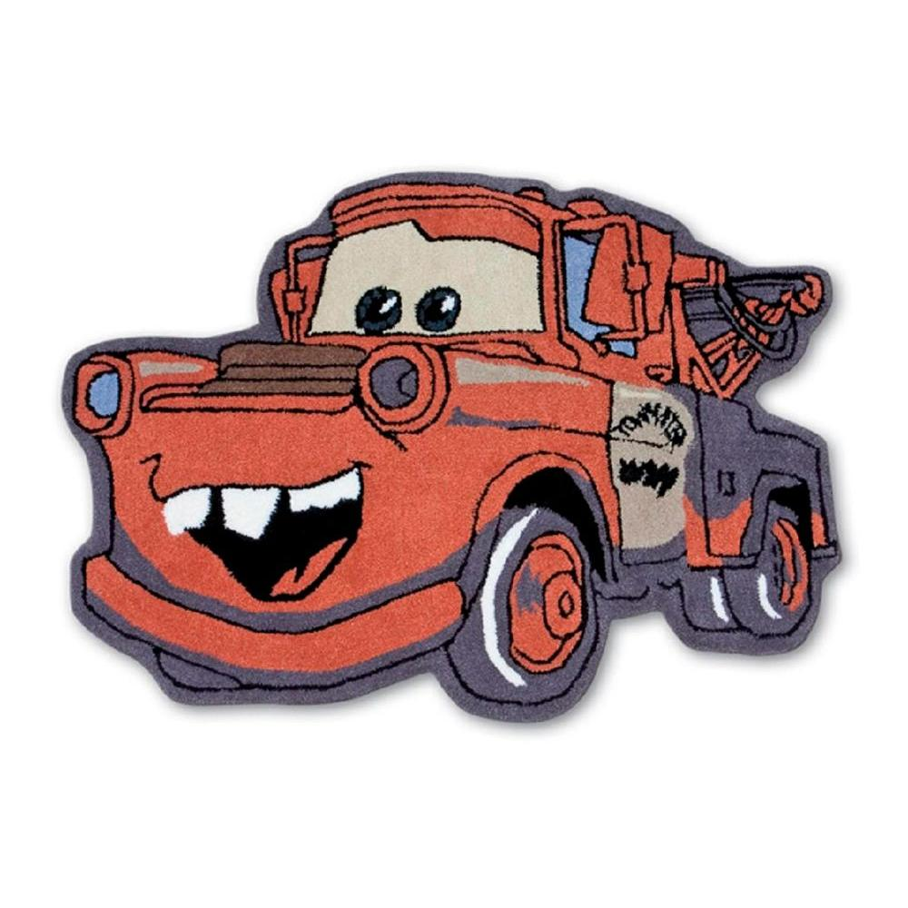 Disney Cars- Mater 3' Shaped Accent Rug-DISCONTINUED