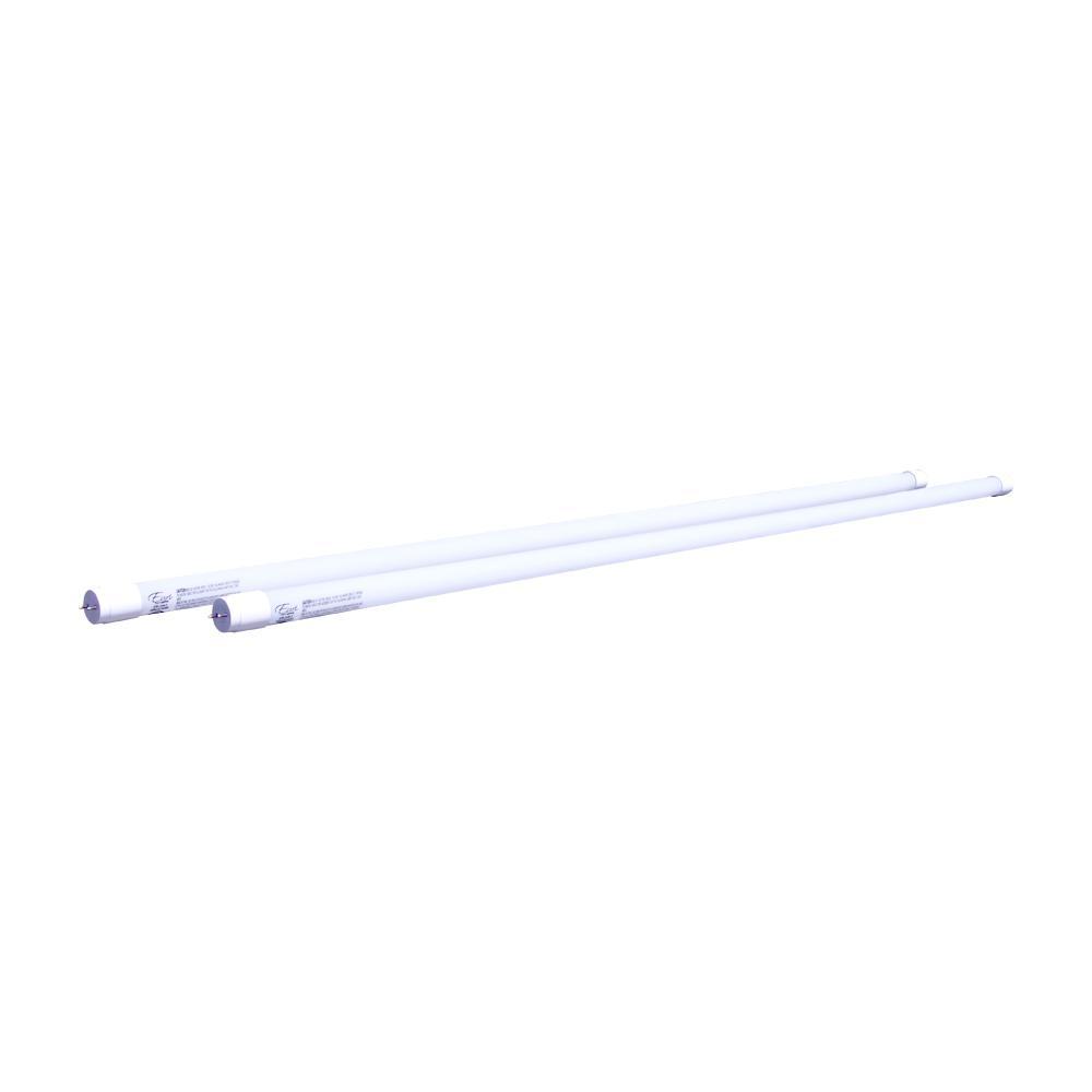 32W Equivalent Cool White (5000K) ET8 Non-Dimmable LED Tube Light Bulb