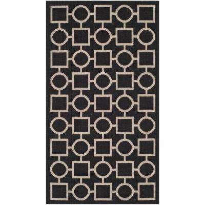 Black 3 X 5 Outdoor Rugs Rugs The Home Depot