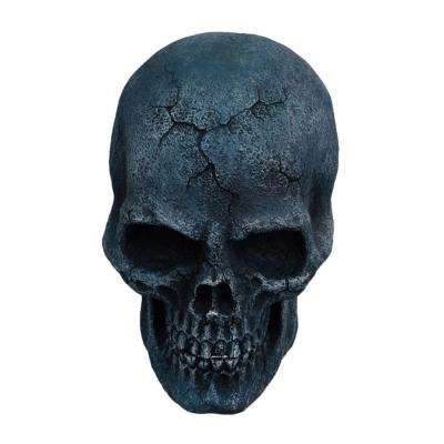 10 in. Animated Stone Skull with Moving Jaw