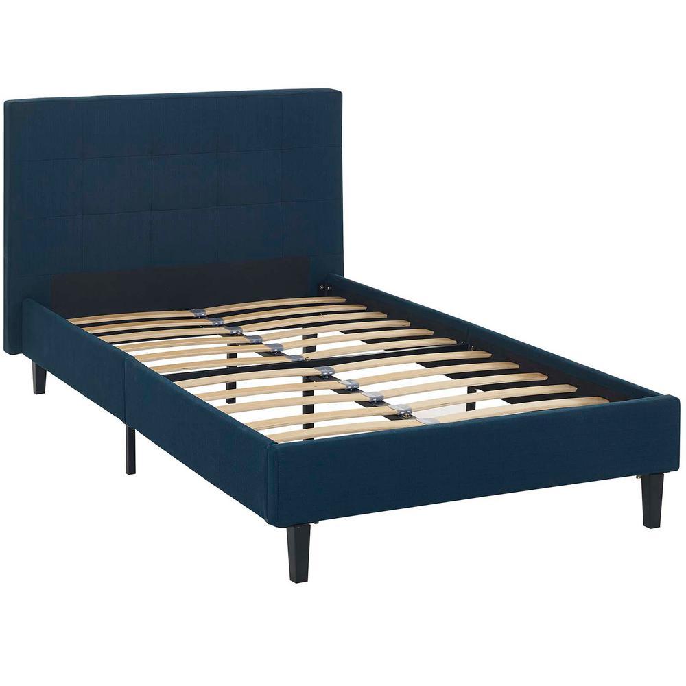 Linnea Azure Twin Bed