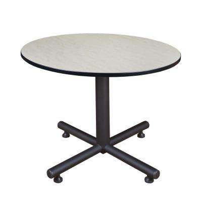 Kobe Maple 48 in. Round Breakroom Table