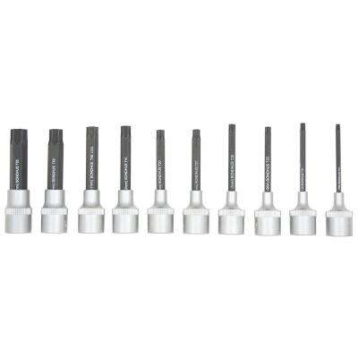 TORX Sockets and Bits Tool Set with ProGuard (10-Piece)