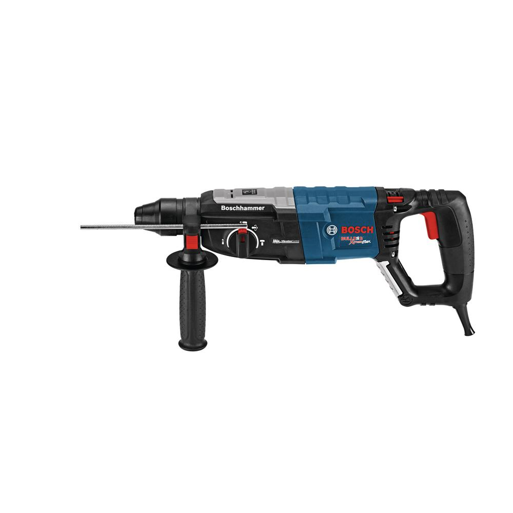 Bosch Factory Reconditioned 8.5 Amp Corded 1-1/8 in. SDS-Plus Concrete/Masonry Rotary Hammer Drill with Carrying Case