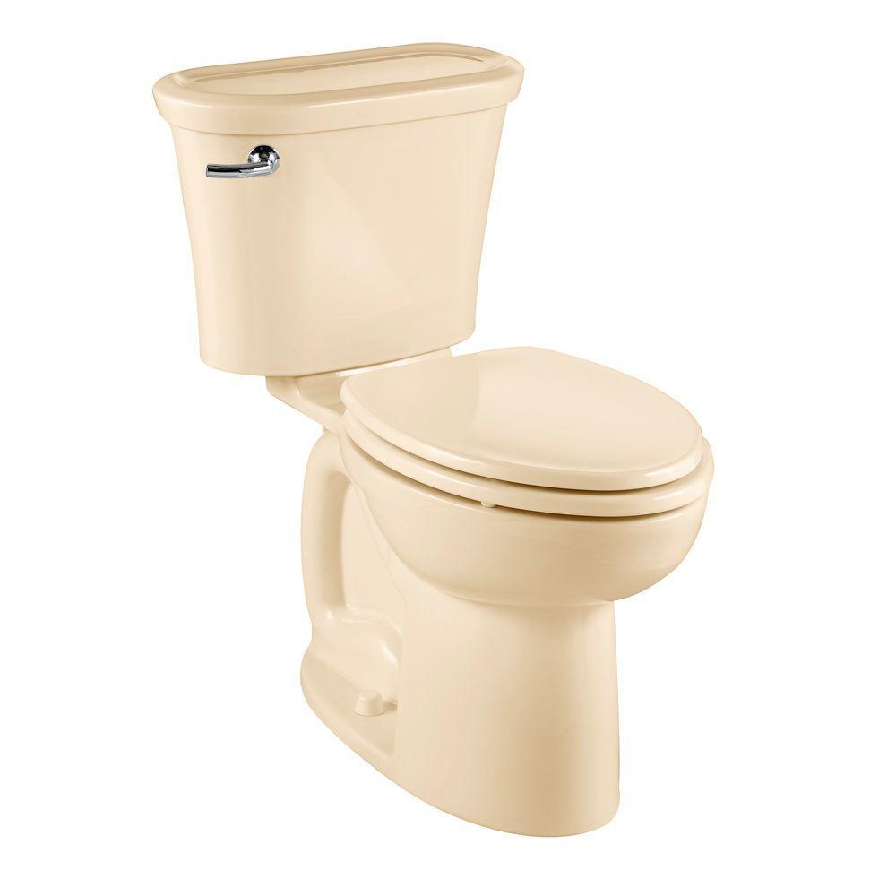 American Standard Tropic 2-piece 1.6 GPF Elongated Toilet in Bone-DISCONTINUED