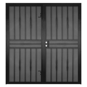 Cottage Rose Black Surface Mount Outswing Steel Security Double · Unique  Home Designs ... Part 81
