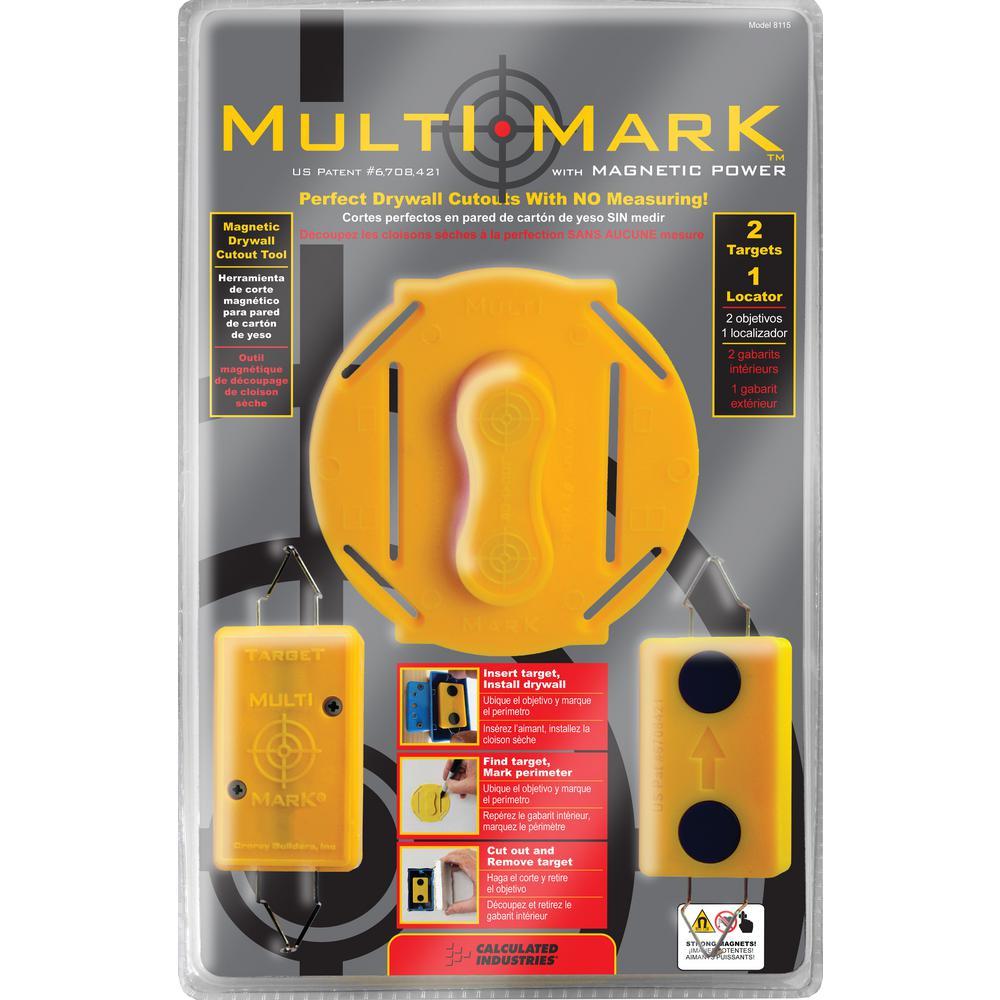 Multi Mark Drywall Electrical Box Locator Tool Kit