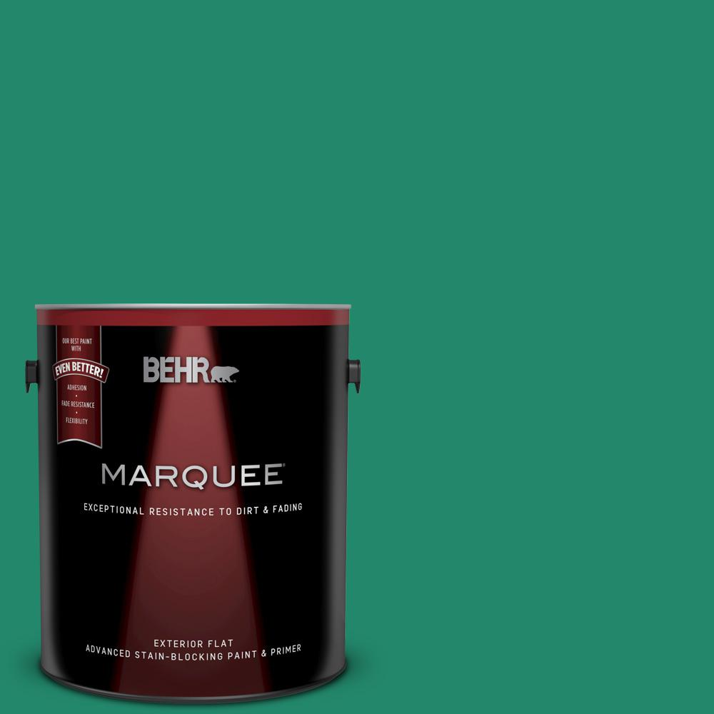 bfcd869af34 BEHR MARQUEE 1 gal.  P430-6 Fairy Queen Flat Exterior Paint and Primer