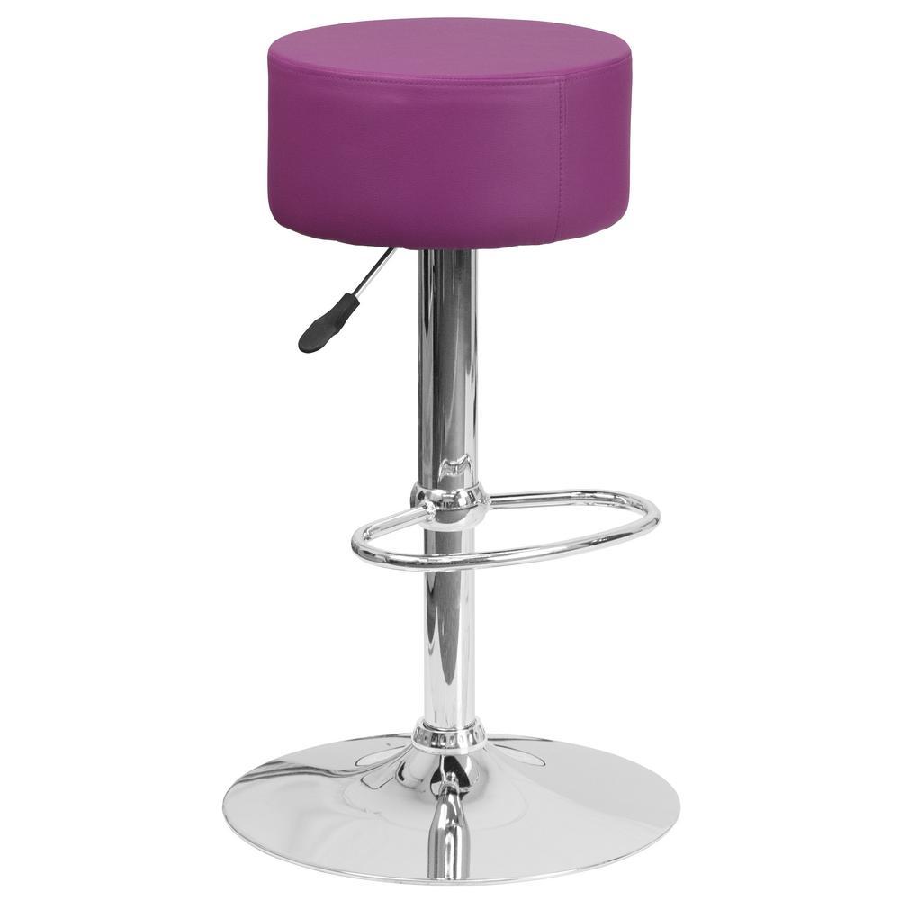 Carnegy avenue carnegy avenue 30 5 in purple bar stool