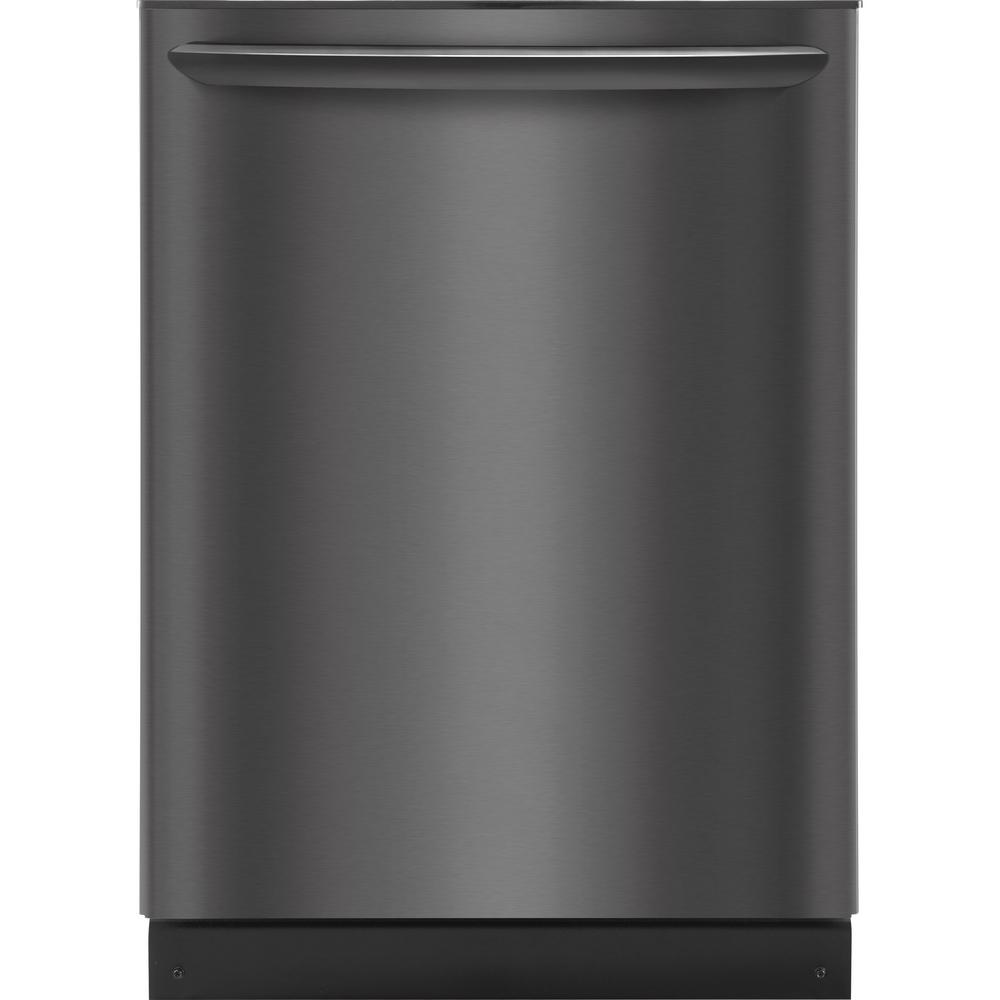 Top Control Tall Tub Dishwasher with OrbitClean Spray Arm in Smudge-Proof