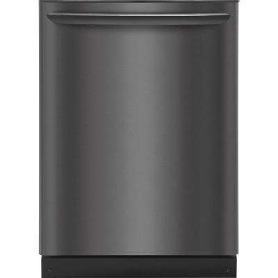 Top Control Built-In Tall Tub Dishwasher with OrbitClean Spray Arm in Smudge-Proof Black Stainless Steel, ENERGY STAR
