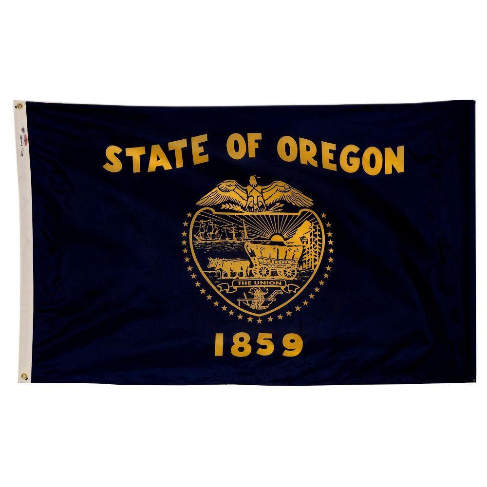 3 ft. x 5 ft. Nylon Oregon State Flag