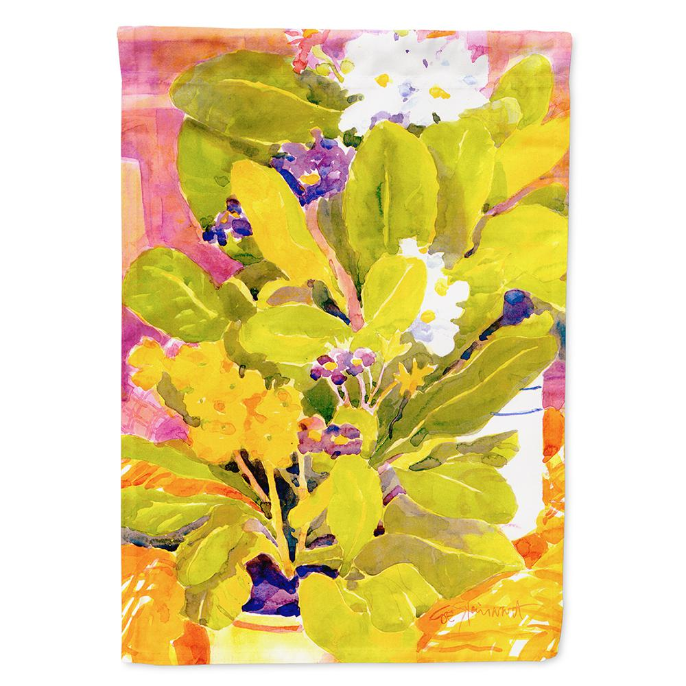 Caroline's Treasures 28 in  x 40 in  Polyester Flower Flag Canvas House  Size 2-Sided Heavyweight