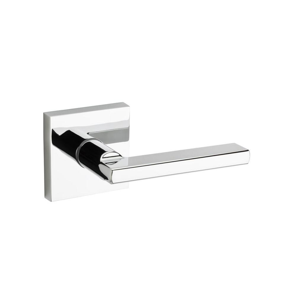 Halifax Square Polished Chrome Passage Hall/Closet Door Lever