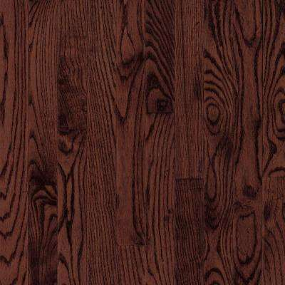 Bayport Oak Cherry 3/4 in. Thick x 3-1/4 in. Wide x Varying Length Solid Hardwood Flooring (22 sq. ft. / case)