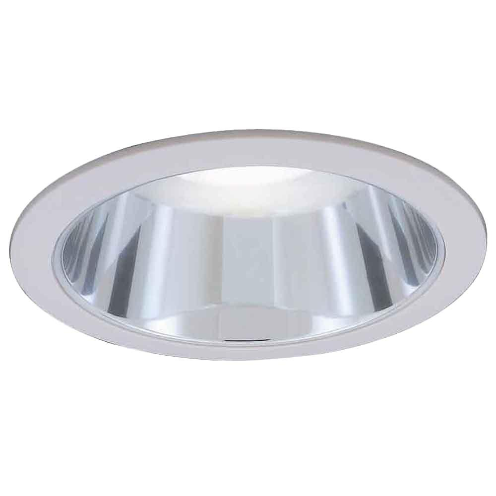 Commercial Electric 6 in. R30 Chrome Recessed Reflector Trim-CAT624C ...