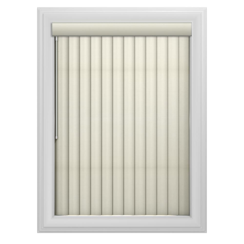 Bali Cut-to-Size 3.5 in. W x 84 in. L Sula Whisper 3 Vertical Blind/Louver Set