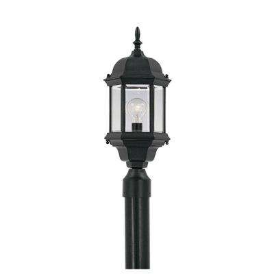 Erving Collection Outdoor Black Post Lantern