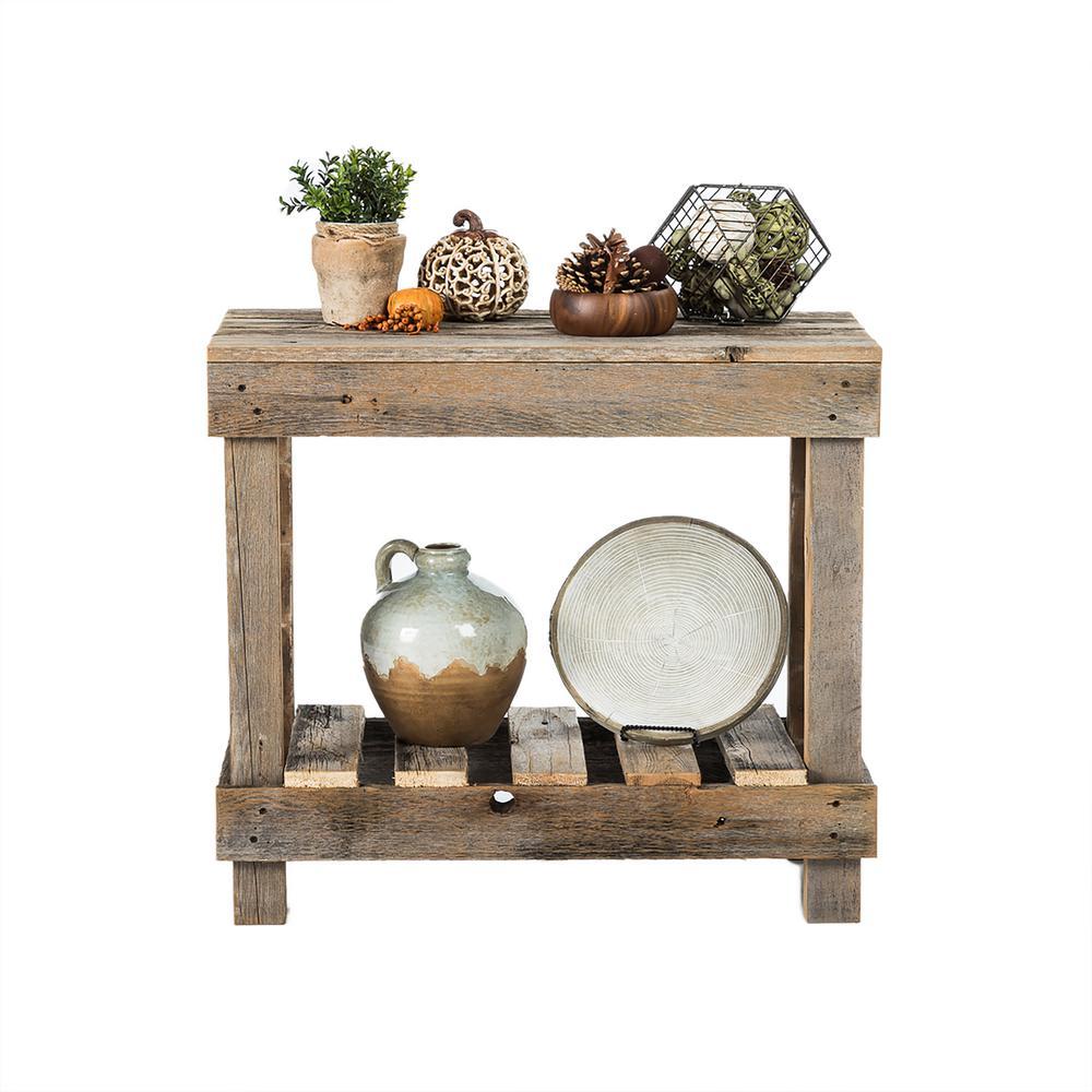 Reclaimed Barnwood Natural Sofa Table