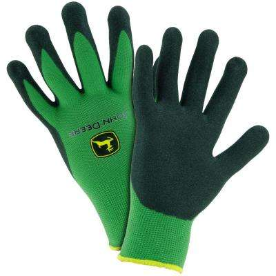 Nitrile Coated Large Grip Gloves