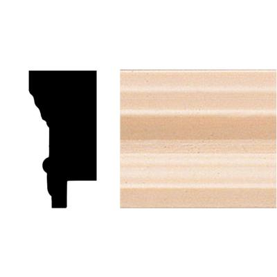 3/4 in. x 1-1/2 in. x 96 in. Hardwood Picture Frame Moulding