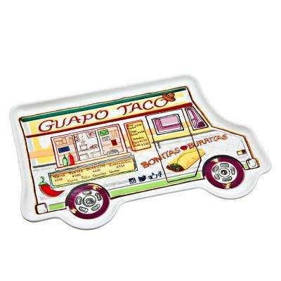 Food Truck Taco Serving Tray
