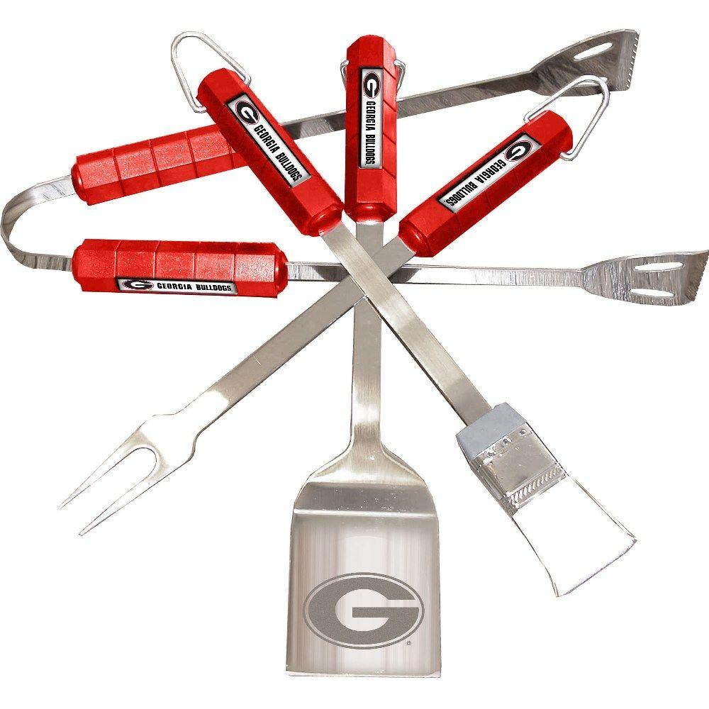 NCAA Georgia Bulldogs 4-Piece Grill Tool Set