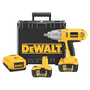 Dewalt 18-Volt XRP Lithium-Ion Cordless 1/2 inch High Torque Impact Wrench Kit with (2) Batteries 2Ah, 1-Hour Charger... by DEWALT