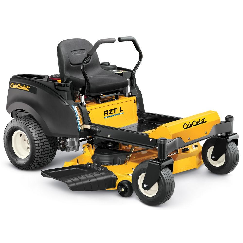 cub cadet rzt l 46 in 688cc fabricated deck honda v twin dual hydro
