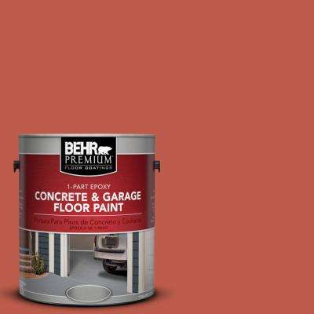 1 gal. #M170-7 Tandoori 1-Part Epoxy Concrete and Garage Floor Paint