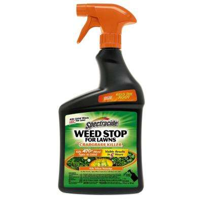 Weed Stop for Lawns 32 oz. Ready-To-Use Weed Plus Crabgrass Killer