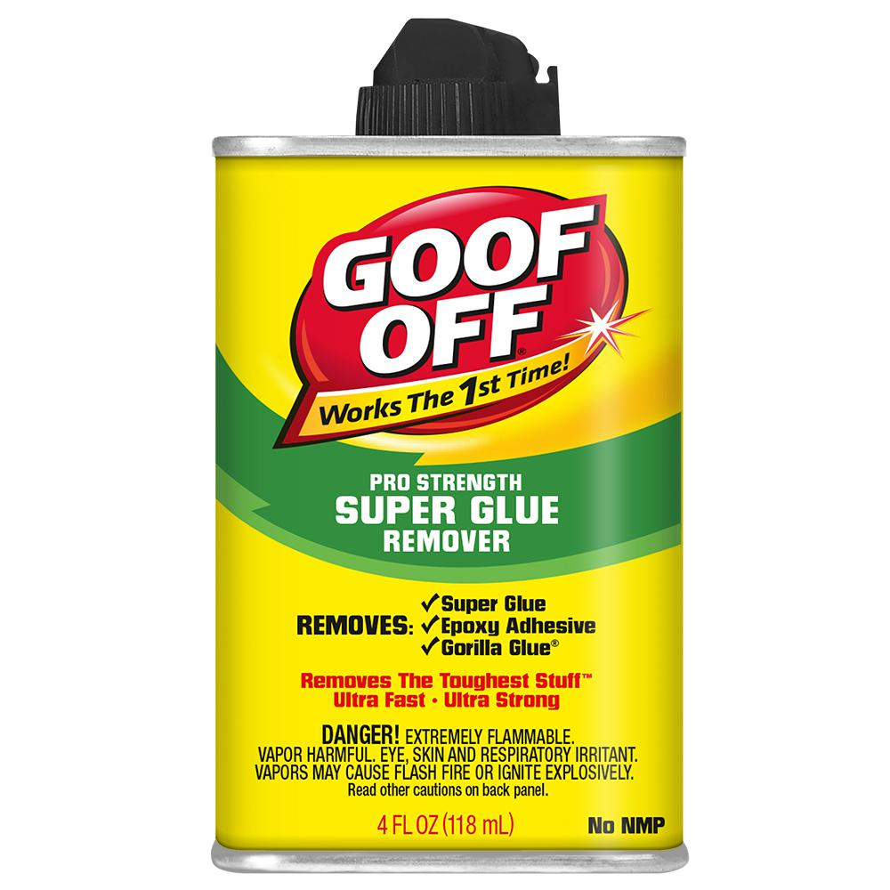 Goof Off 4 oz  Super Glue Remover Non-NMP