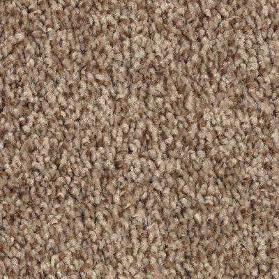 Gemini I-Color Stonington Beige Textured 12 ft. Carpet