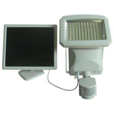 Outdoor 144 LED Solar Powered Motion Activated Security Light In White