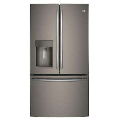 22.2 cu. ft. French Door Refrigerator in Slate, Counter Depth