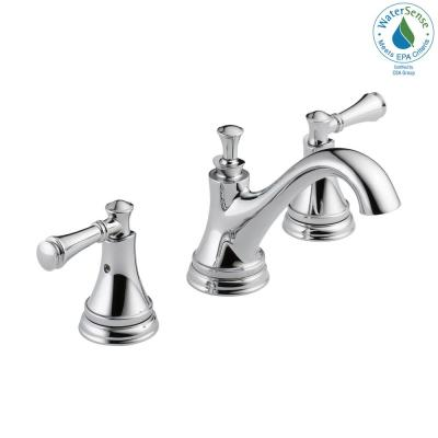 Silverton 8 in. Widespread 2-Handle Bathroom Faucet in Chrome