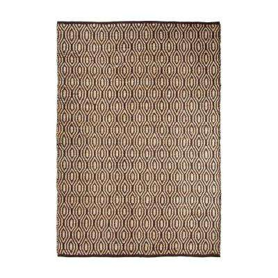 SunnyVale Chocolate 5 ft. x 7 ft. Indoor Area Rug