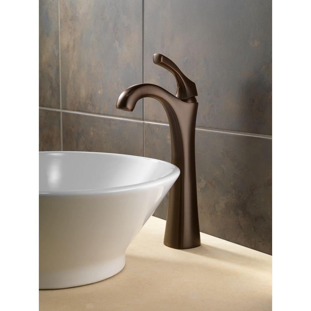 Addison Single Hole Single-Handle Vessel Bathroom Faucet in Venetian Bronze