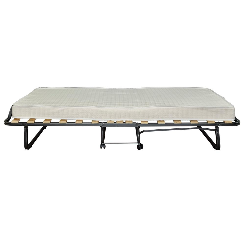 Linon Home Decor Luxor Folding Bed With Memory Foam 352std