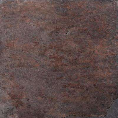 Slate Multirajah Calibrated/Gauged 15.87 in. x 15.87 in. Slate Floor and Wall Tile