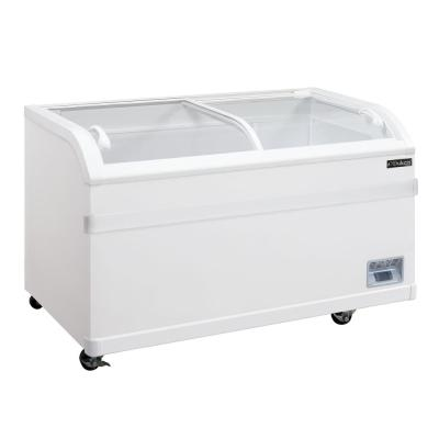 24.7 cu. Ft. Commercial Chest Freezer in White